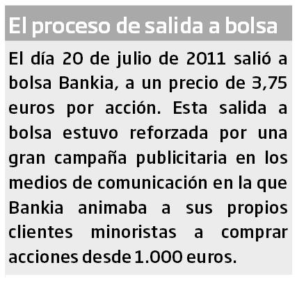 Abogado Valencia - Acciones de Bankia