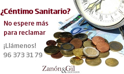 Reclamar Céntimo Sanitario Valencia
