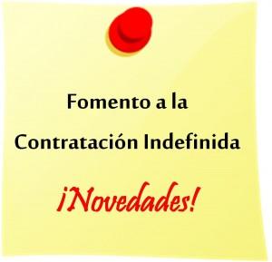 Fomento Contratación Indefinida