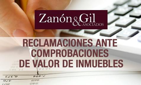 RECLAMACIONES ANTE COMPROBACIONES DE VALOR DE INMUEBLES