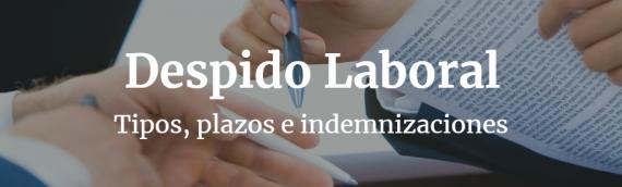 El Despido Laboral: Tipos, Plazos e Indemnizaciones