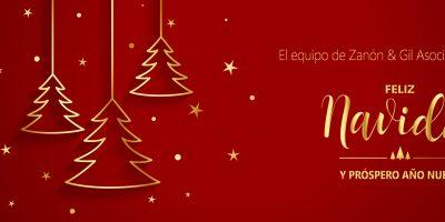 ¡Zanón & Gil Asociados os desea Felices Fiestas! 🎄