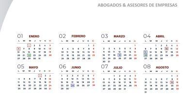Calendario Laboral 2020 para Valencia