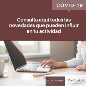 Novedades COVID-19 Empresas y Autonomos